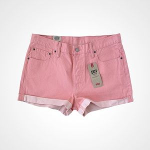 🌸New🌸 Levi's 501 Mid Rise Shorts Size 34W NWT